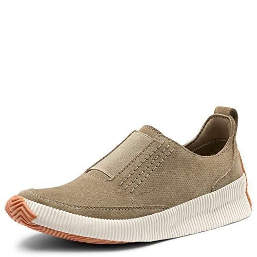 Sorel Women's Out N About Plus Slip-On Sneaker - Sage - Size 7