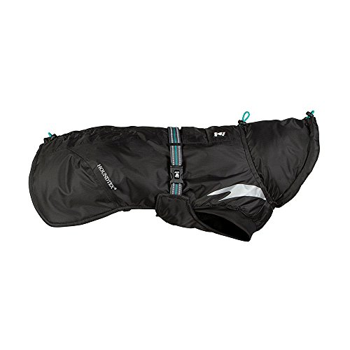 Hurtta Summit Parka Hundewintermantel - Schwarz 55