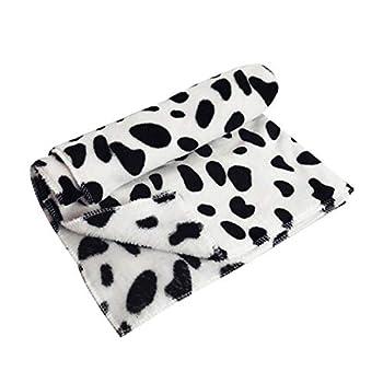 Smart Pet Blanket – Tapis de niche pour chiens et chats, couvertures chaudes pour l'automne et l'hiver, velours corail épais, portable, super doux, coussin en flanelle (HB)