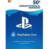 TARJETA PSN CARD 50€   Código de descarga PSN - Cuenta española