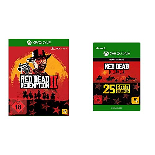 Red Dead Redemption 2 [Xbox One] + 25 Gold Bars [Download Code]