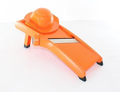 Euronovità EN-81585 Affettaverdure Affettatrice Multiuso, Arancione, 45x12x10 cm