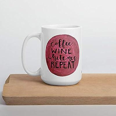 Coffee Wine Whitener Repeat Mug