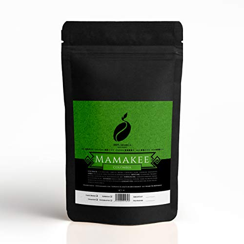 Mamakee Kaffee Colombia Single Origin Arabica Bio I Speciality Coffee aus Kolumbien I 100% Arabica I Direkthandel (250)