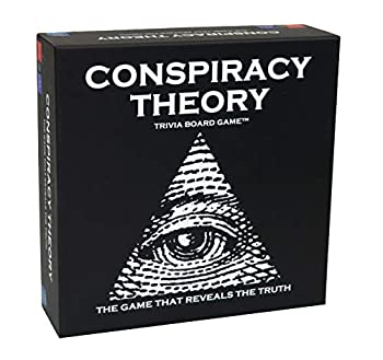 Neddy Games Conspiracy Theory Trivia Board Game - 3rd Edition