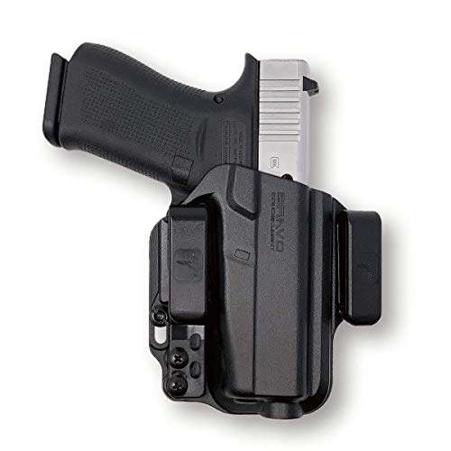 Holster for Glock 43X, 43 - IWB Holster for Concealed Carry / Custom fit to Your Gun - Bravo Concealment