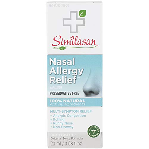 Similasan Nasal Allergy Relief, 0.68 Ounce - 2 per case.