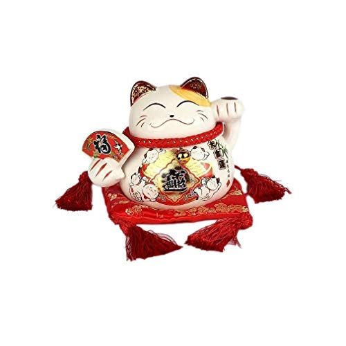Gato japonés de la Suerte.