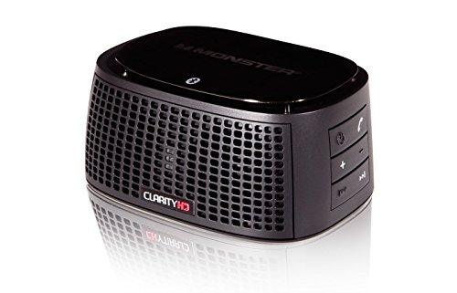 Monster ClarityHD Precision Micro Bluetooth Speaker, Black