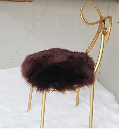 JINDSMART Seat Cushion,Round Chair Cushions For Dining Chairs,Anti-slip Portable Cushion For Meditation Yoga,Fuzzy Chair Cushion