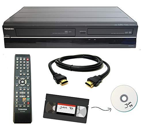 Toshiba VHS to DVD Recorder VCR Combo w/ Remote, HDMI