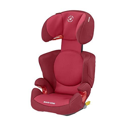Maxi-Cosi Rodi XP FIX-Kindersitz, ISOFIX Booster-Sitzerhöhung, 3,5 - 12 Jahre, 15 - 36 kg, Basic Red (rot)