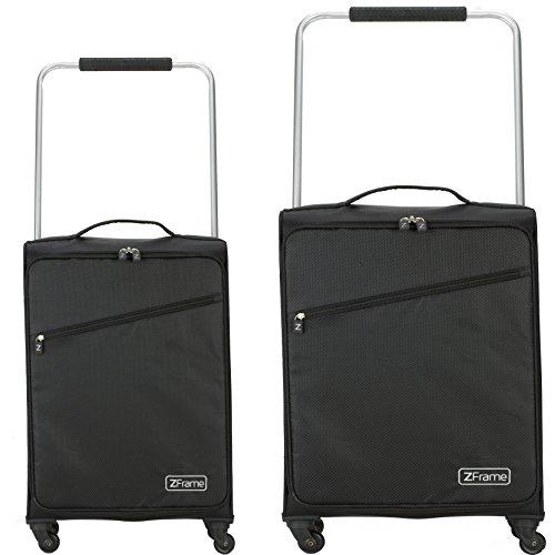 Ultimate Products Ltd Set di valigie Z Frame, nero - nero, SH22283722BLK