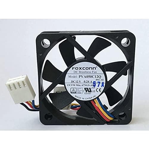 PVA050C12Q 5cm 5010 fan 12V 0.24A 4-wire PWM high volume air cooling fan