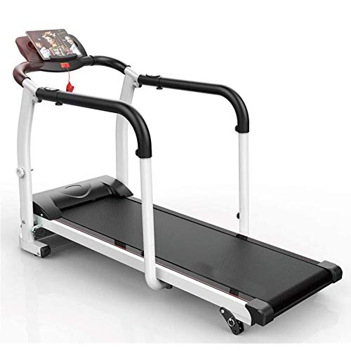 ZRXRY Treadmills, Foldable Motorised Rehabilitation Treadmills, Household Elderly Multifunctional Walking Machine, Indoor Limb Recovery Training Fitness Exercise Equipment, 0.5-6Km/H