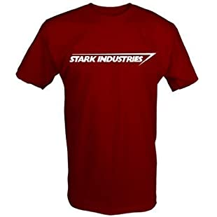Stark Industries T Shirt (Red, Small)