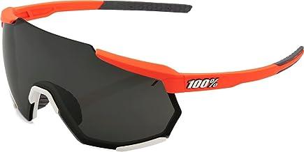100% GAFAS RACETRAP-Soft Tact Oxyfire spiegelbril, volwassenen, uniseks, zwart (meerkleurig), eenheidsmaat