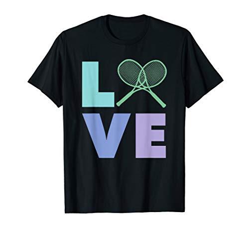 Love Tennis - Trainer, Pro, Spieler T-Shirt