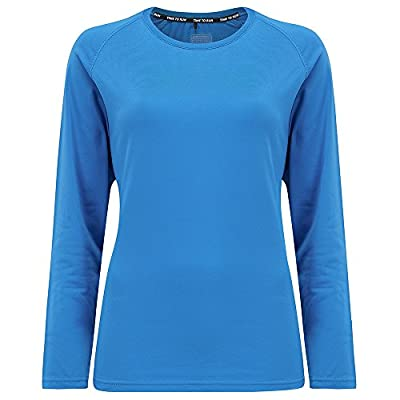 Time To Run Women's Lightweight Long Sleeve Thermo Running Crew Neck Top