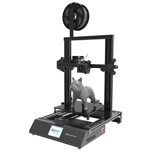 "Xvico 3D Printer DIY Print 3D Printers Kit 220x220x250mm Size X3S High Precision 2.8"" Touch Screen USB PLA Filament Open Source"