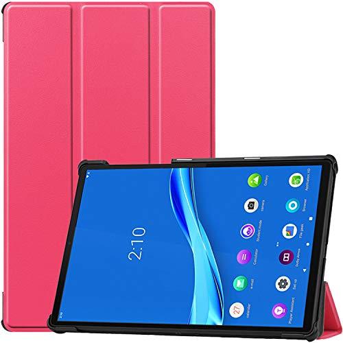 ProCase Custodia Cover per Lenovo Tab M10 FHD Plus 10.3 Pollici(TB-X606F TB-X606X), Sottile Leggero Custodia Protettiva per Lenovo Tab M10 FHD Plus Android Tablet 2020 Rilasciato –Magenta