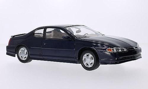 Chevrolet Monte Carlo SS, dunkelblau, 2000, Modellauto, Fertigmodell, Sun Star 1 18