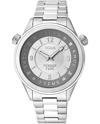 TOUS Reloj Mujer Tender Time SS ESF Silver Brazalete - Ref 100350455