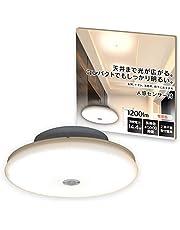 アイリスオーヤマ 小型シーリングライト 人感センサー無/有 550lm/900lm/2000lm 光色変更 スタンダードモデル/音声操作モデル