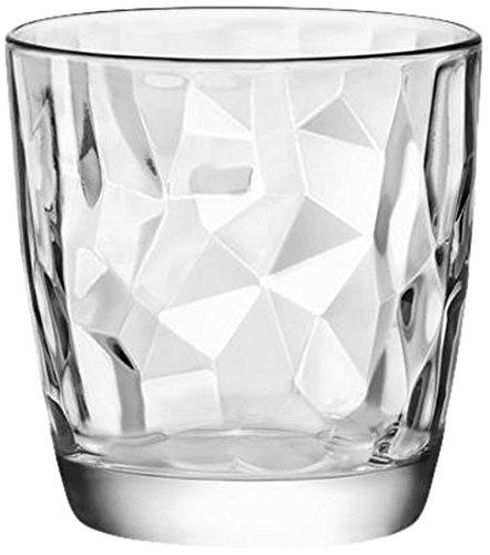 Bormioli Rocco 350200Q02021990 Diamond, Bicchieri 30.5 cl, confezione da 3