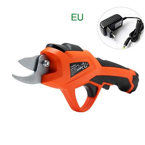 XD7 Sécateur électrique sans Fil Portable, sécateur de Branche de Batterie au Lithium 3,6 V 1500 mAh, diamètre de Coupe de 10 mm / 0,4 Pouce, 0,5 Heures de Travail