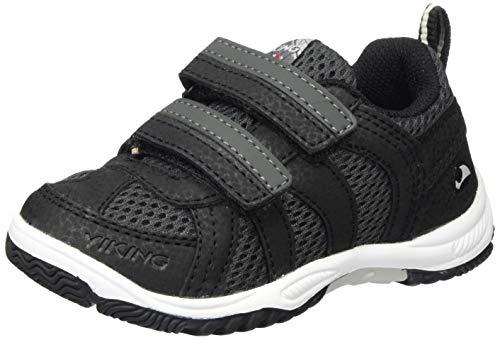 viking Cascade 2.0, Unisex-Kinder Sneaker, Schwarz (Black/Dark Grey 291), 30 EU (11.5 UK)