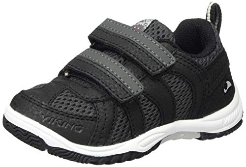 viking Unisex-Kinder Cascade 2.0 Sneaker, Schwarz (Black/Dark Grey 291), 29 EU