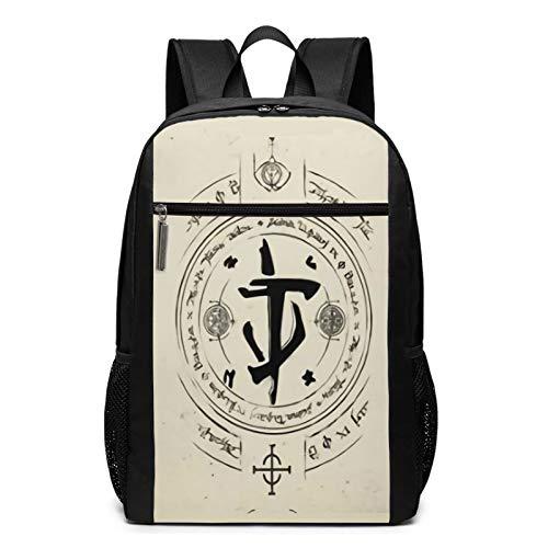 Do_Om Eter_Nal - Mochila para portátil para mujer y hombre, mochila vintage para colegio, bolsa de viaje