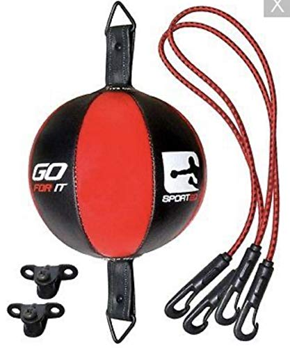spq Balón de Velocidad de Dodge de Suelo a Techo, MMA Boxing Workout con Accesorios para Uso doméstico