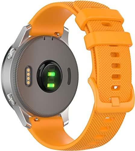Gransho Pulseira de Relógio compatível com Huawei Watch GT/Watch GT 2e / Watch GT 2 (46mm) / GT2 PRO/Watch 3 / Watch 3 PRO, Bandas de Reposição Esportiva de Silicone Macio (22mm, Pattern 6)