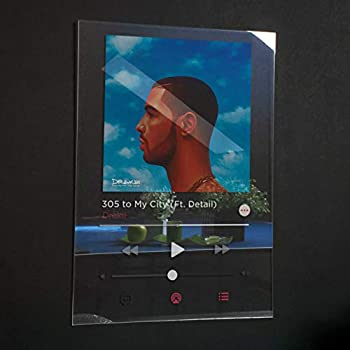 Drake - Nothing Was The Same Acrylic Plaque Modern Poster Spotify/Apple music Unique Gift Idea Transparen Album Cover Home Decor
