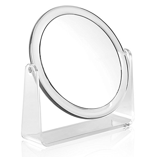 Karina 10X Round DualSided 625quot Vanity Mirror 10X amp Normal