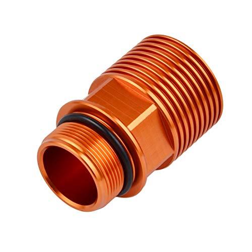 CHENWEI- Motociclo Freno Posteriore Fluid Reservoir Extender Protezione dell'olio for KTM 150 250 350 125 450 500 525 530 SX SX-F EXC TPI EXC-F XC XCF XC-W XCF-W SMR (Color : Orange)