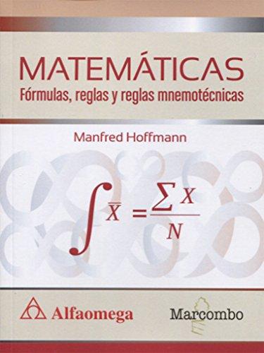 MATEMÁTICAS Fórmulas, reglas y reglas mnemotécnicas