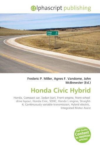Honda Civic Hybrid PDF Books