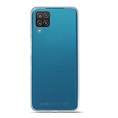 Case FortyFour No.1 para Samsung A12 - Funda delgada y ligera para teléfono - transparente