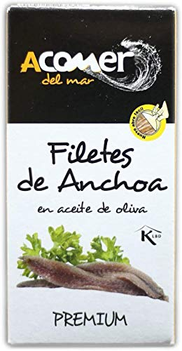 Pack 8 latas Anchoas de Santoña del Cantábrico 50 grs