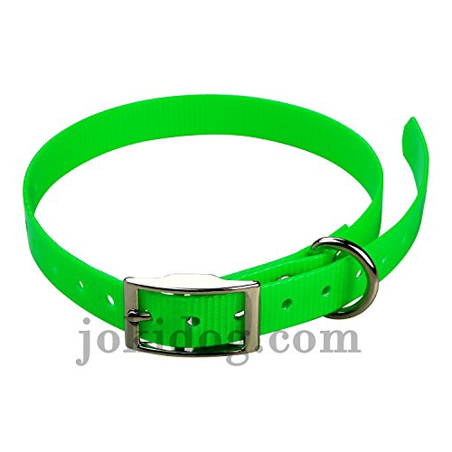 jokidog Sangle pour Collier Garmin Mini T5, TT15-19 mm x 60 cm x 2 mm Vert