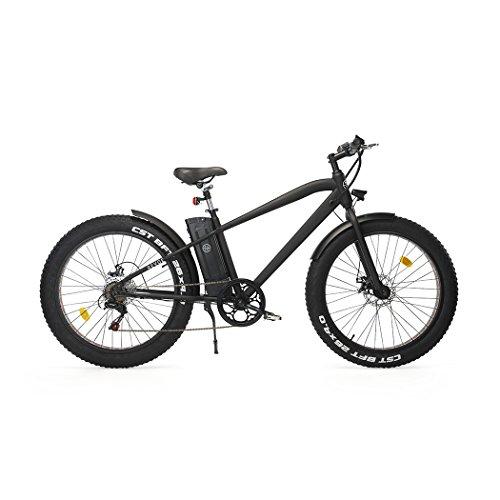 REVOE Fat Vélo électrique Mixte Adulte, Noir
