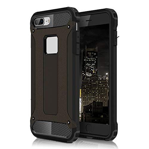 Cover Antiurto per Apple iPhone 4 / 4s   Nero   Lati Rinforzati e Fondo Rigido