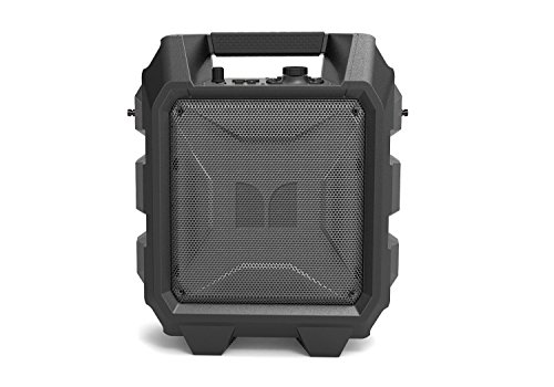 Monster Rockin' Roller Mini | Portable Bluetooth Wireless Speaker, 60 Watts, up to 36 Hours Playtime, Mic/Guitar Input, Water Resistant
