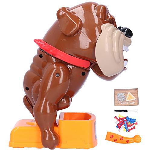 KUIDAMOS Juguete de Hueso para Masticar Perro vicioso, emocionante e Interesante Juguete Interactivo para Padres e Hijos para Regalo de año Nuevo para Regalo de cumpleaños((Perro Malo))