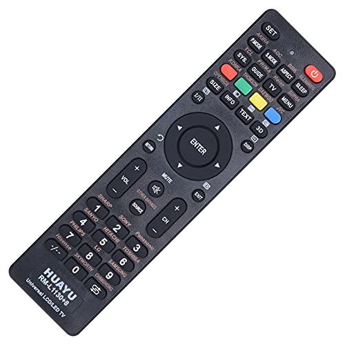 Mando a distancia universal de TV para Samsung, Vizio, LG, Sony, Panasonic, Smart TV, HAIER, Toshiba, Philips, Skyworth, tiene 3D, Netflix, botones de aplicaciones