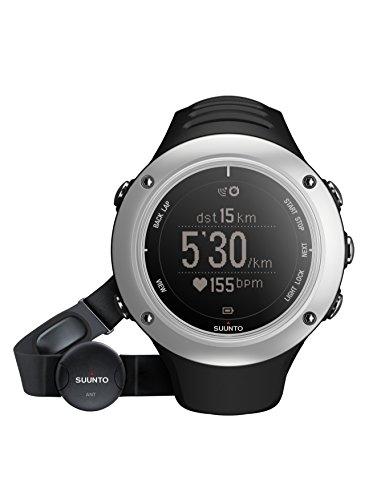 Suunto Ambit2 S HR Reloj con GPS Integrado, Unisex, Plateado/Negro