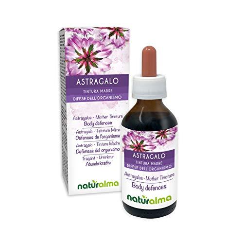 Tragant (Astragalus membranaceus) Wurzeln Alkoholfreier Urtinktur Naturalma | Flüssig-Extrakt Tropfen 100 ml | Nahrungsergänzungsmittel | Veganer